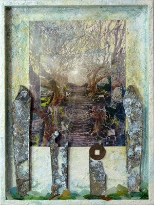 Der geheime Garten, 40 x 30 cm