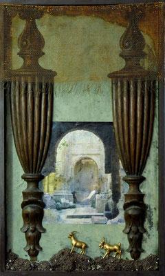 Paesaggio, 50 x 30 cm