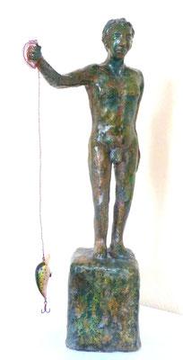 Pescatore, 53 x 19 x 22 cm