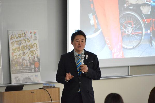二宮雅也氏(文教大学准教授・東京2020ボランティアアドバイザリー会議委員)