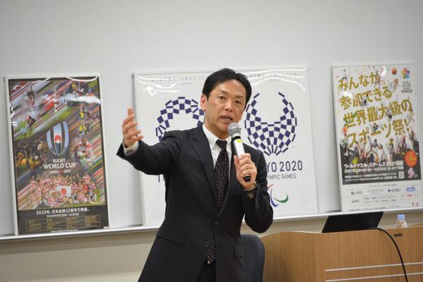 倉田秀道氏(あいおいニッセイ同和損害保険・前早稲田大学スキー部監督)
