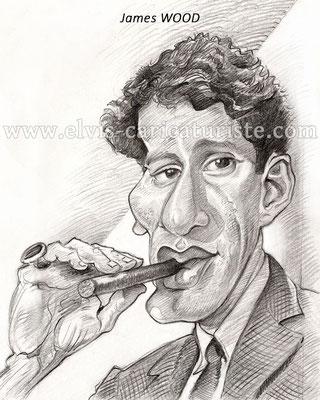 Caricature James Wood