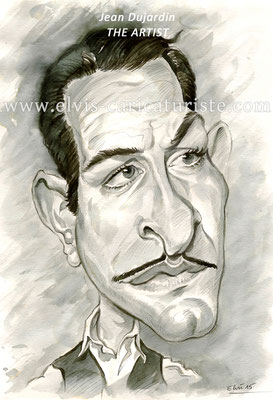 Caricature The artist