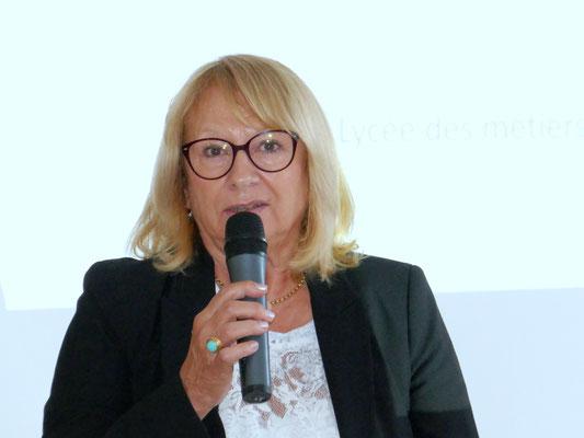 Madame la présidente départementale de l'AFDET