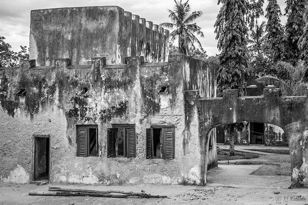 Altes portugisisches Fort in Bagamoyo