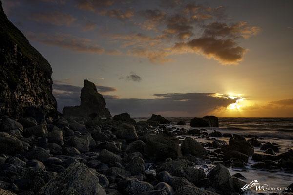 Sonnenuntergang an der Talisker Bay
