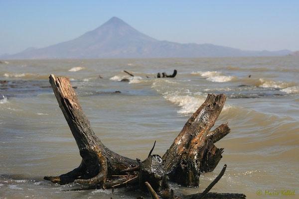 Blick auf den Vulkan Concepción