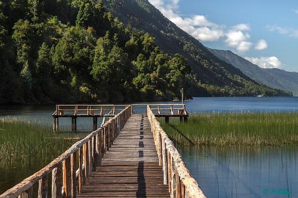 Chile: Am Lago Risopatron