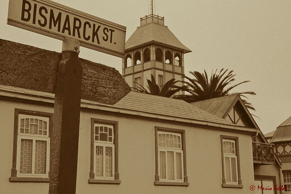 Bismarck-Strasse in Swakopmund