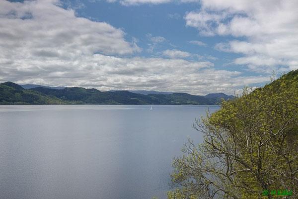 Blick über das Loch Ness