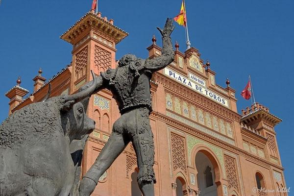 An der Stierkampfarena von Madrid - Las Ventas