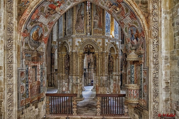 Im Convento de Cristo in Tomar