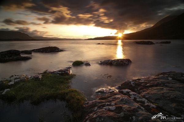 Sonnenuntergang in Torridon