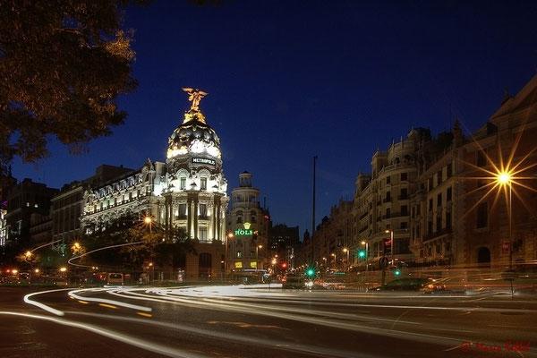 Edificio Metropolis auf der Gran Via