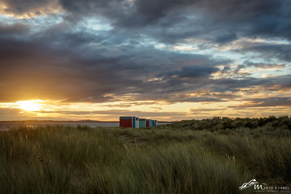 Sonnenaufgang am Findhorn Beach