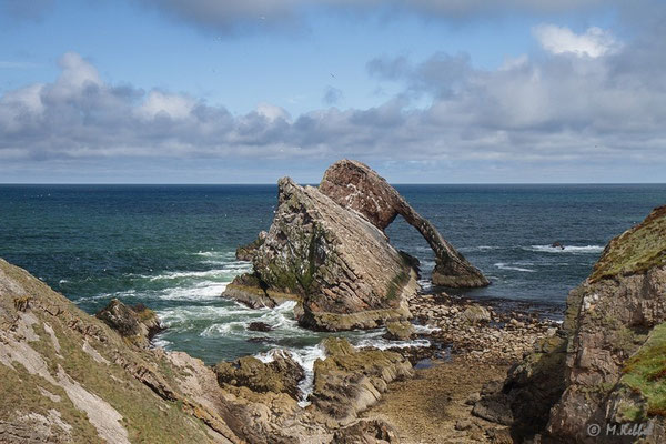Bow Fiddle Rock in Portknockie