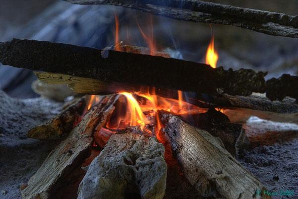 Feuer bei den Indios