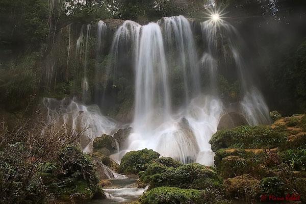 Wasserfall El Nicho in der Sierra de Escambray