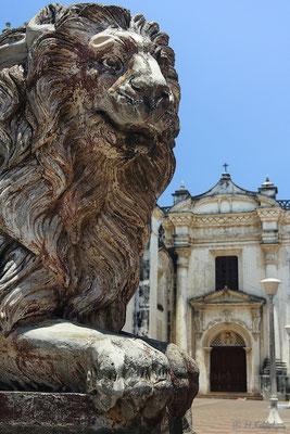 Wahrzeichen der Kathedrale von Leon