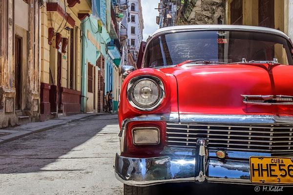 Oldtimer in Habana Vieja