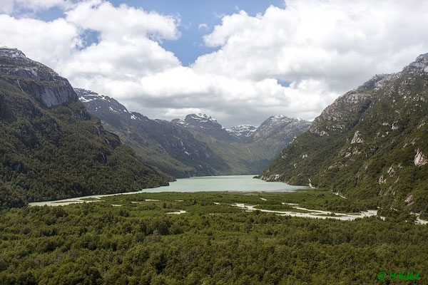 Chile: Blick auf den Lago Bayo