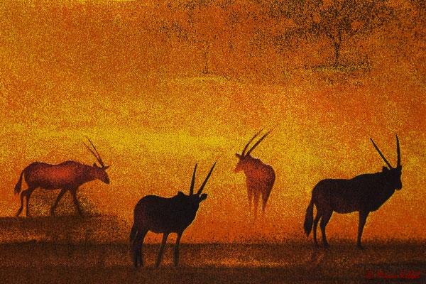 Malerisches Afrika