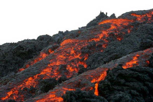 Flüssiges Magma