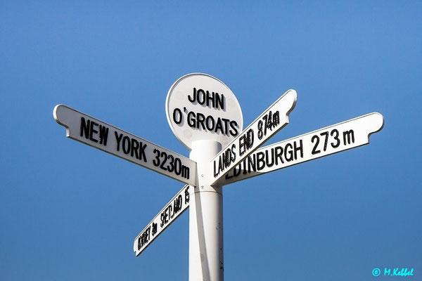 John o' Groats - Das Ende Schottlands