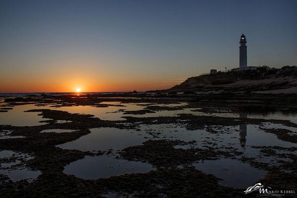 Sonnenuntergang am Kap Trafalgar