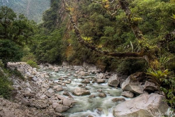 Rio Urubamba in Aguas Calientes