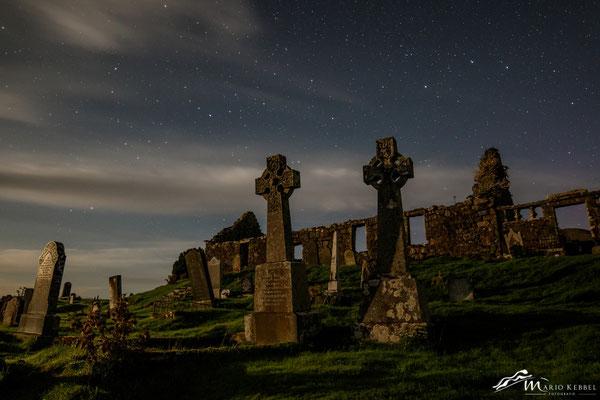 Nachthimmel in Cill Chriosd