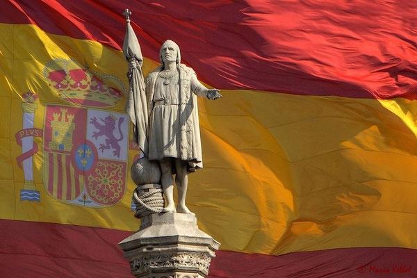 Kolumbus Statue auf dem Plaza de Colón
