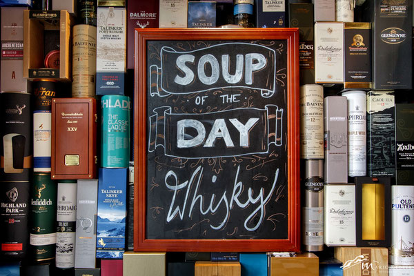 """Soup of the Day: Whisky"""