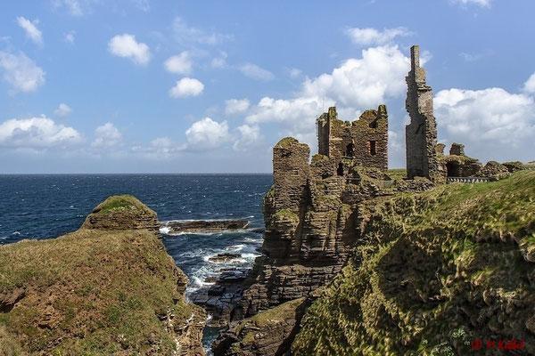 Castle Sinclair Girnigoe bei Wick
