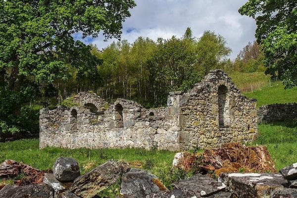 Verfallenes Cottage