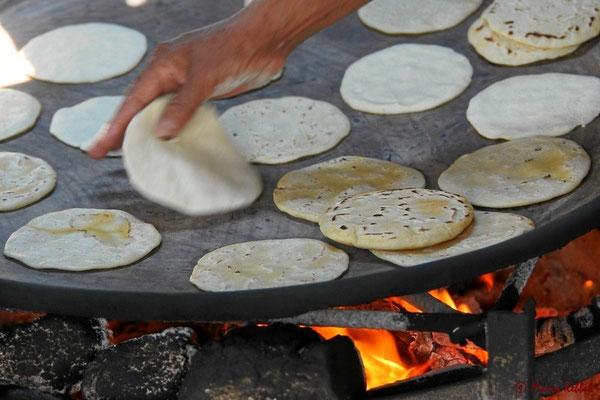 Tortilla-Herstellung in Handarbeit