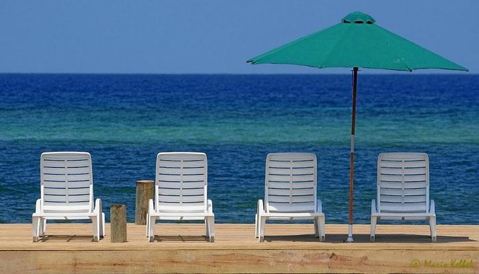 Relaxen auf der Isla de Roatan