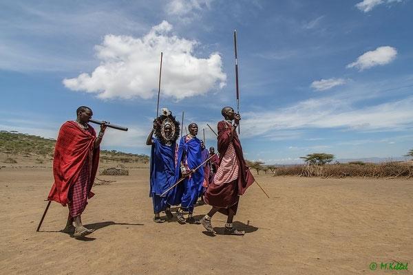TraditionellerTanz der Massai