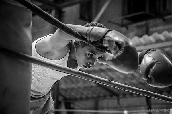 Training im Gimnasio de Boxeo Rafael Trejo in Havanna