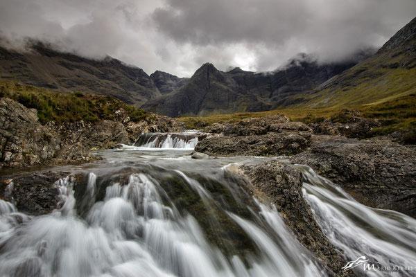 Fairy Pools auf der Isle of Skye