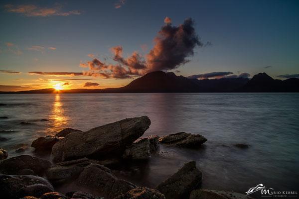 Sonnenuntergang in Elgol