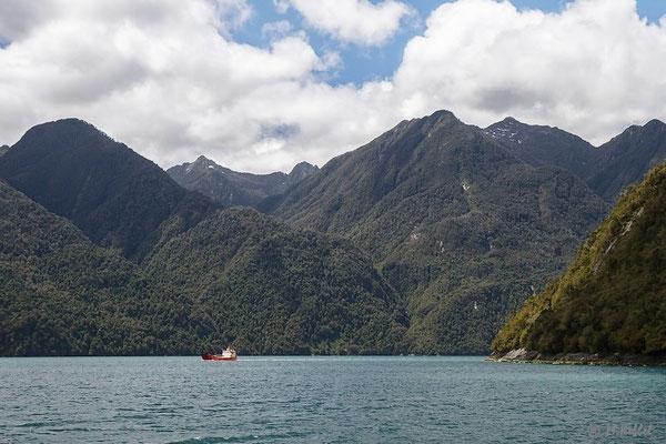 Chile: Caleta Gonzalo im Pumalin Park