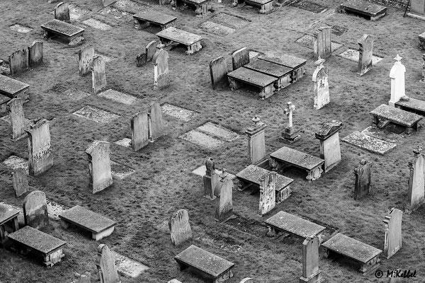 Friedhof bei der Kathedrale von Elgin