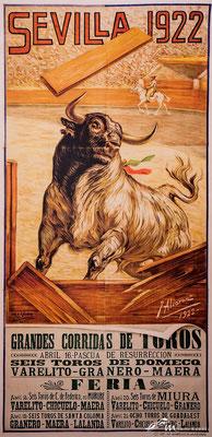 Stierkampf in Sevilla seit 1922
