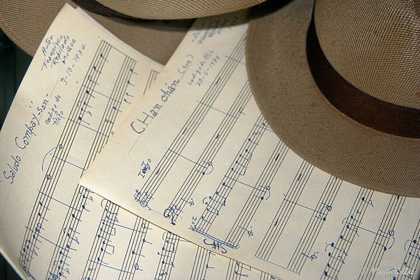 "Original-Noten des Compay Segundo Klassikers ""Chan Chan"""