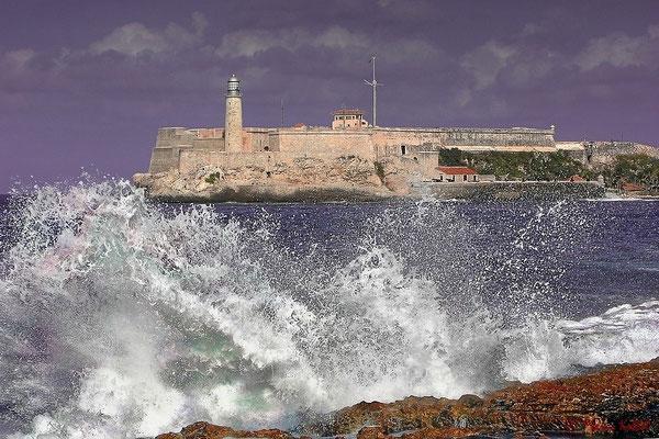 """Blick auf die Festung """"El Morro"""""""