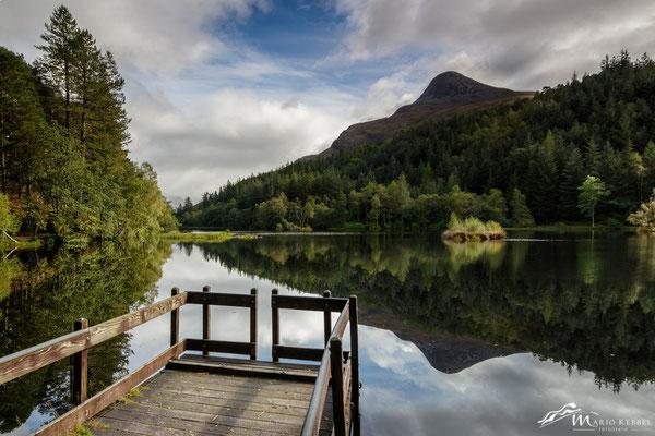 Loch Lochan in Glencoe
