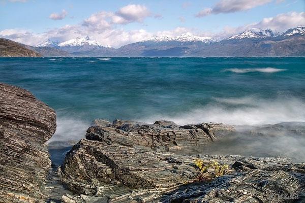 Chile: Stürmischer Lago General Carrera