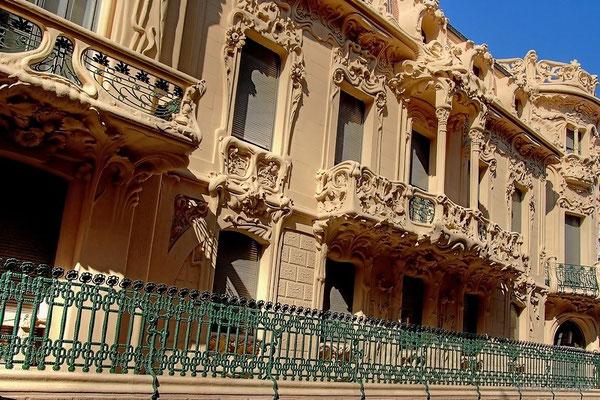 Am Palacio Longoria