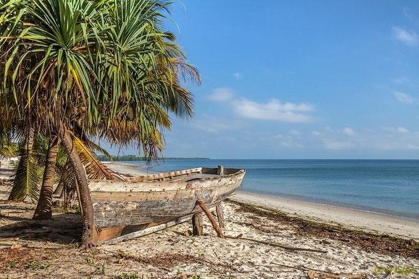 Am Strand von Bagamoyo